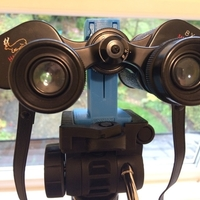 Small Binocular clamp for Vanguard tripod 3D Printing 189686