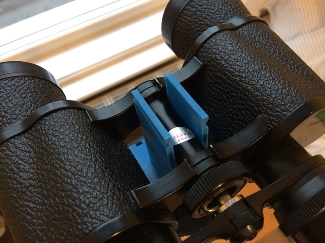 Binocular clamp for Vanguard tripod 3D Print 189687