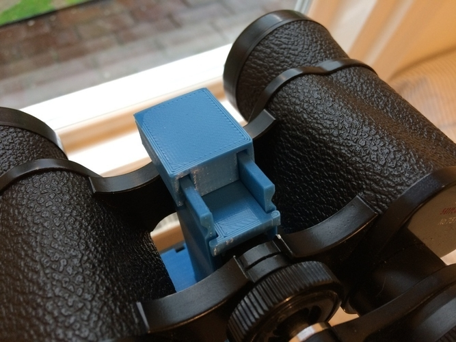 Binocular clamp for Vanguard tripod 3D Print 189689