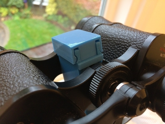 Binocular clamp for Vanguard tripod 3D Print 189691