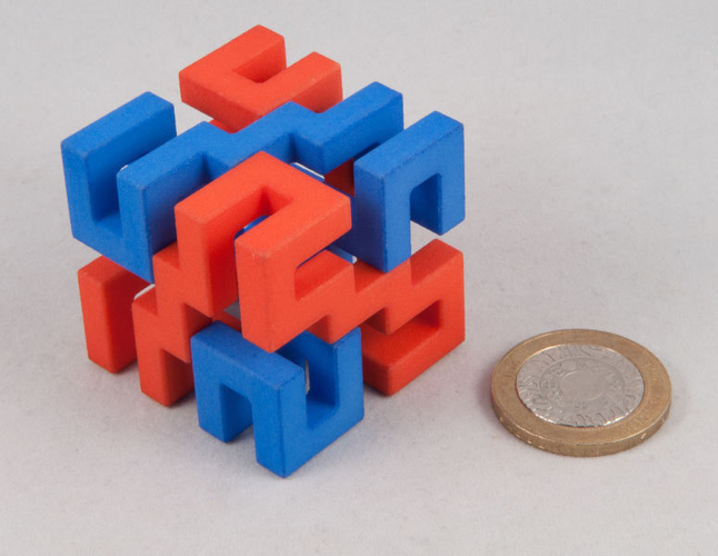 Superstrings puzzle 3D Print 189701