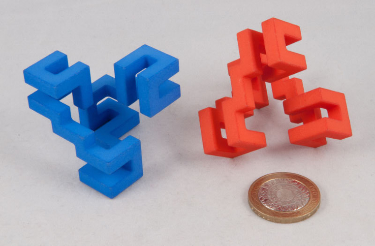 Superstrings puzzle 3D Print 189702