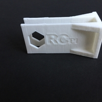 Small RCpi Motor Mount 3D Printing 189908