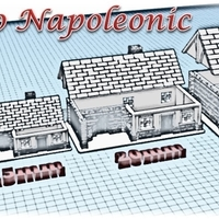 Small House 2 - Wargame medieval to napoleonic  3D Printing 189924