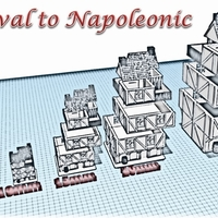 Small Building 2 - Wargame medieval to napoleonic 3D Printing 189932