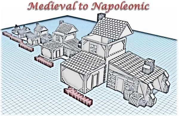 Medium Forge - Wargame medieval to napoleonic 3D Printing 189934