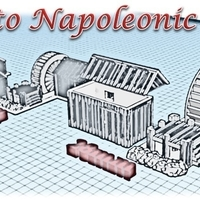 Small Watermill - Wargame medieval to napoleonic 3D Printing 189939