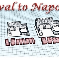 Small Hen house - Wargame medieval to napoleonic 3D Printing 189940