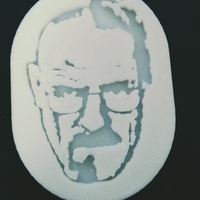 Small Walter White 3D Printing 190180
