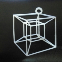 Small Hypercube in 2D 3D Printing 190188