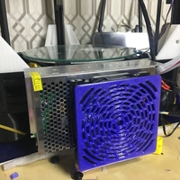 Small 120mm PC cooler and cover for delta 3d printer 3D Printing 190237