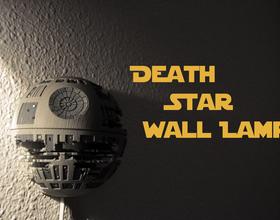 Death Star Wall Lamp (Star Wars)