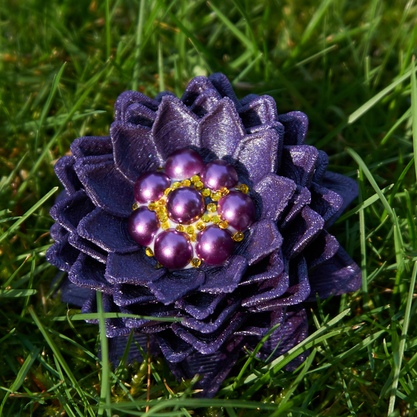 Medium Dahlia Inspired Flower 3D Printing 190501