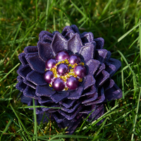 Small Dahlia Inspired Flower 3D Printing 190501