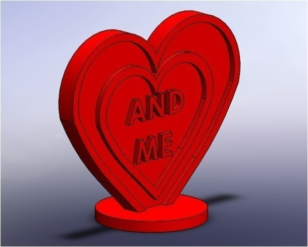 heart simple gift 3D Print 190768