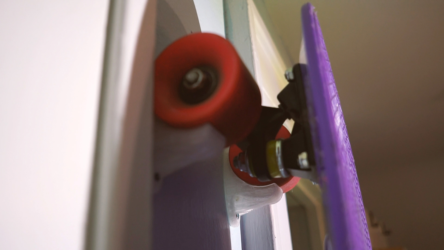 Skateboard Wall Mount 3D Print 190834