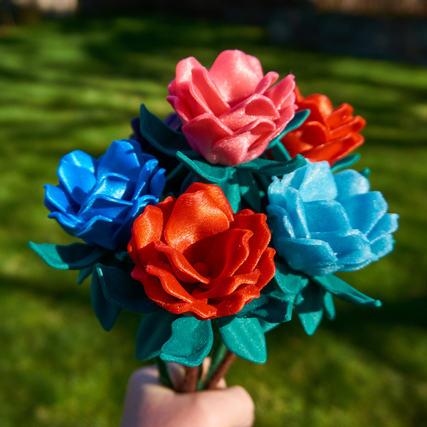 Medium Maz's Flower 3D Printing 190846