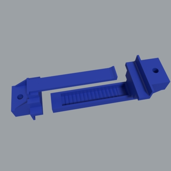 Medium Adjustable Battery Tie Down 3D Printing 19088