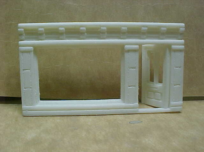 SCALEPRINT SINGLE SHOP FRONTS LEFT AND RIGHT 00/HO SCALE 3D Print 190884