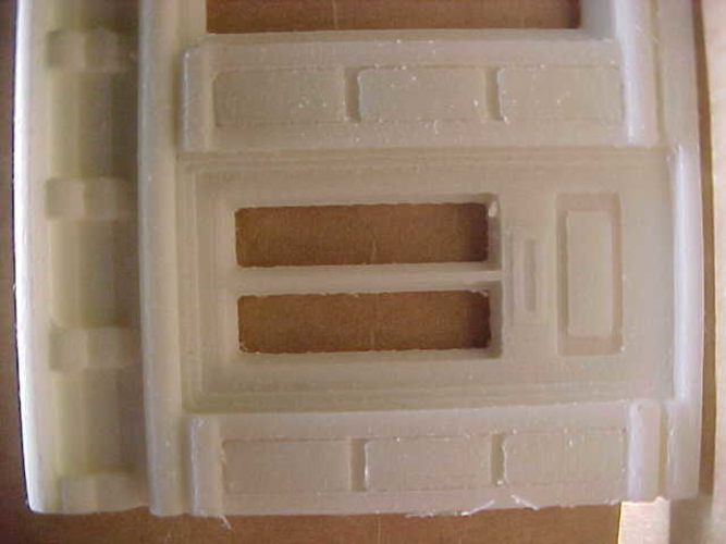 SCALEPRINT SINGLE SHOP FRONTS LEFT AND RIGHT 00/HO SCALE 3D Print 190887
