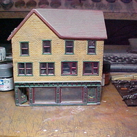 Small SCALEPRINT DOUBLE SHOP FRONT 00/HO SCALE 3D Printing 190893