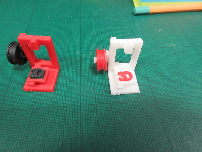 Mini Display 3D printer 3D Print 191085