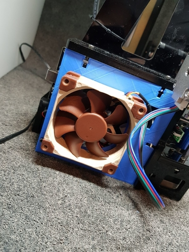 AnyCubic Prusa i3 80mm Fan Upgrade 3D Print 191133