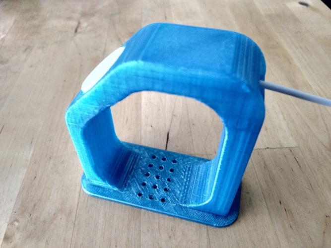 "Apple Watch Charging Stand - Fits 38/42mm (~4"" Height) 3D Print 191217"