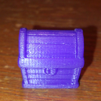 Small Treasure Chest 3D Printing 191311