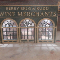 Small SCALEPRINT BERRY BRO'S AND RUDD WINE MERCHANTS 00/HO SCALE 3D Printing 191391