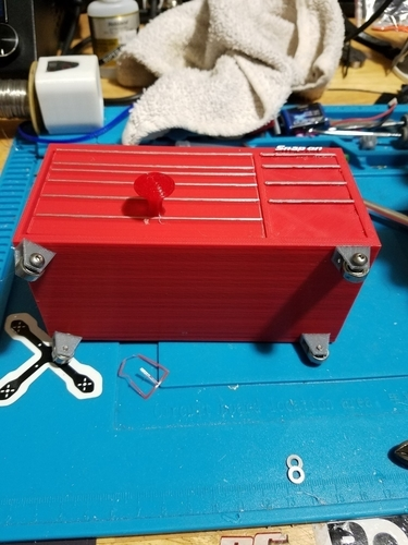 Desk top Snap On Tool box paperclip and pen holder. 3D Print 191438