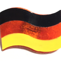 Small Germany`s Flag  3D Printing 191616