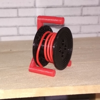 Small Scale 1/10 drum cable reel 3D Printing 191684