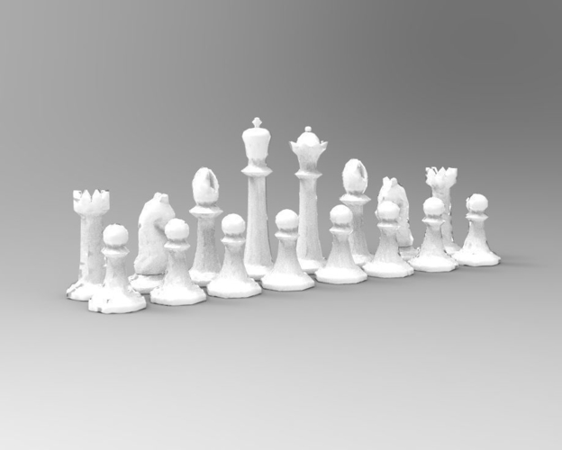 Chess Set 2 3D Print 191735