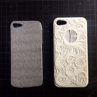 Small iphone 5/5s case_The Starry Night 3D Printing 191780