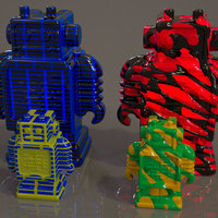 Small Ultibot Remix Pack 3D Printing 19185