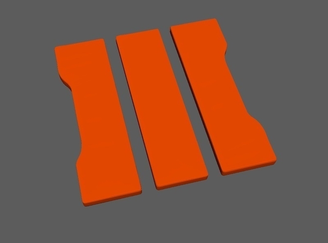 Call of Duty Black Ops 3 Icon 3D Print 191852