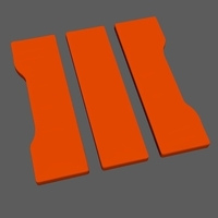 Small Call of Duty Black Ops 3 Icon 3D Printing 191852