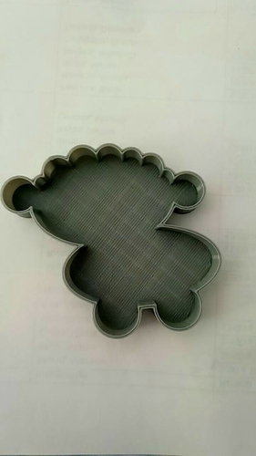Sheep cookie cutter 3D Print 191858