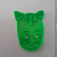 Small Catboy Pj mask cookie cutter 3D Printing 191859