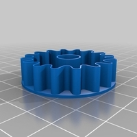 Small Gear cookie cutter 3D Printing 191861