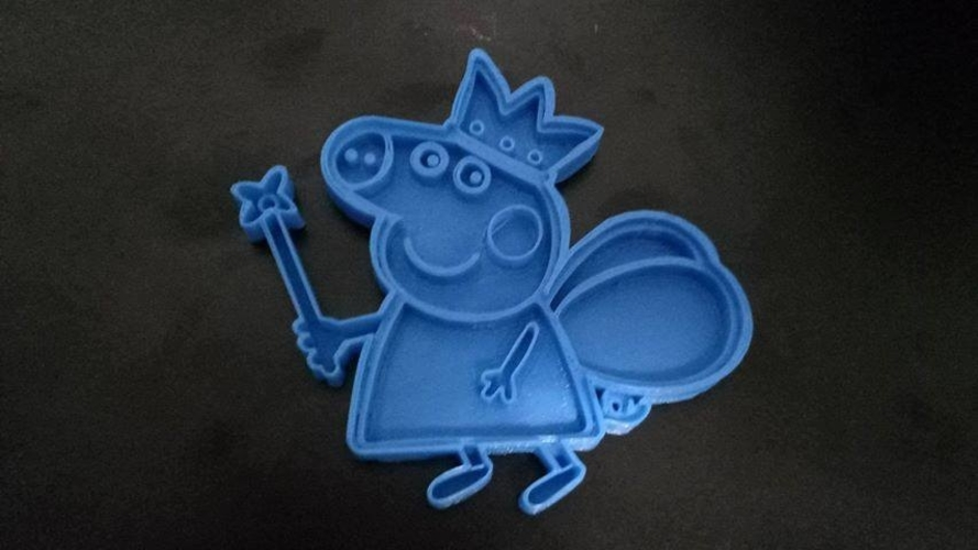 Peppa pig cookie cutter 3D Print 191875