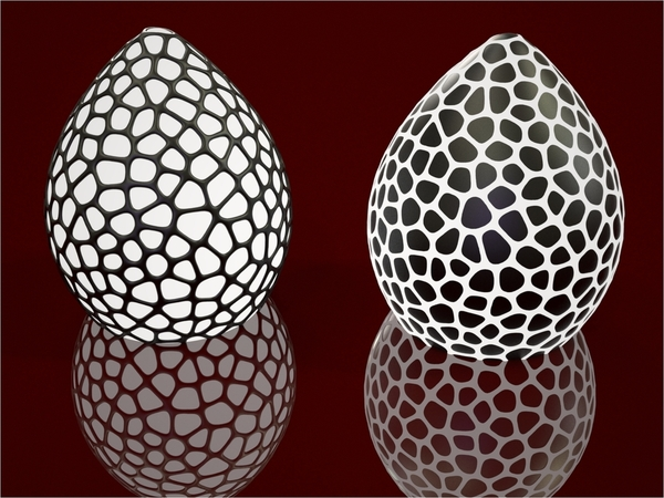 Medium Dragon's Egg Lightshade 3D Printing 19197