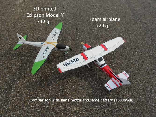 RC plane - Eclipson Model Y 3D Print 192042