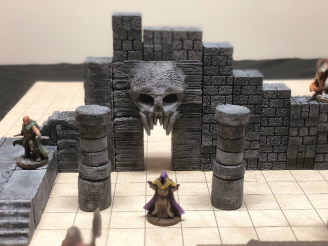 ScatterBlocks: Cyclopean Stone (28mm/Heroic scale) 3D Print 192066