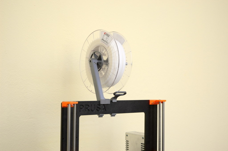 Versatile Spool Holder for Prusa MK2/3 (and not only) 3D Print 192096