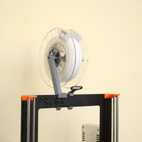 Small Versatile Spool Holder for Prusa MK2/3 (and not only) 3D Printing 192096