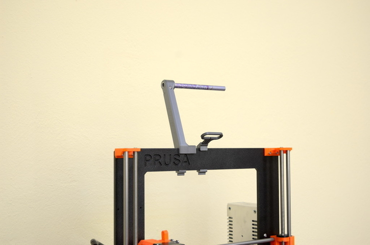 Versatile Spool Holder for Prusa MK2/3 (and not only) 3D Print 192097