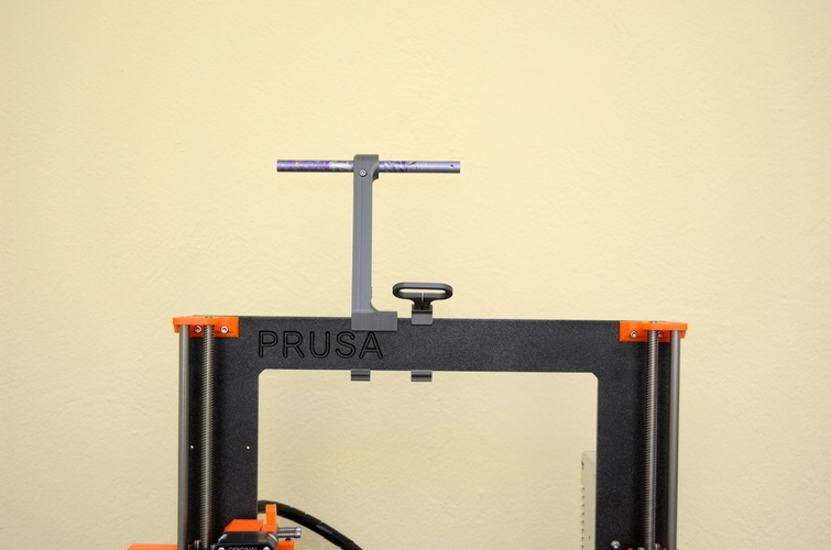 Versatile Spool Holder for Prusa MK2/3 (and not only) 3D Print 192098