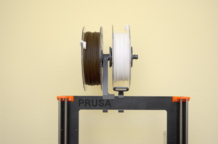 Versatile Spool Holder for Prusa MK2/3 (and not only) 3D Print 192099